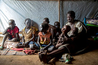 Grandmother of 9, Juba refugee camp, South Sudan