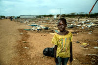 A child in Tom Ping Refugee camp, Juba, South Sudan